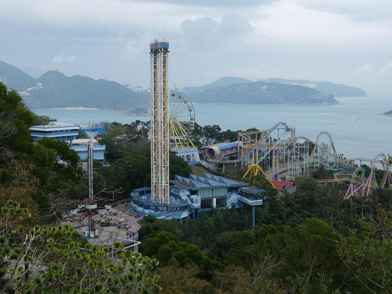 Гонконг - Oкеанический парк - Аттракционы