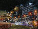 Ночь на Арбатской площади