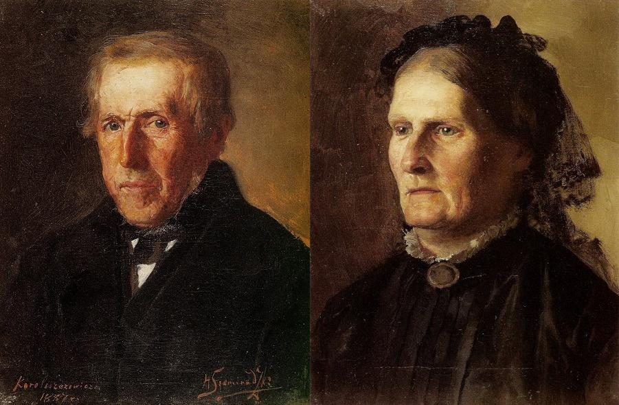 Отец и Мать художника