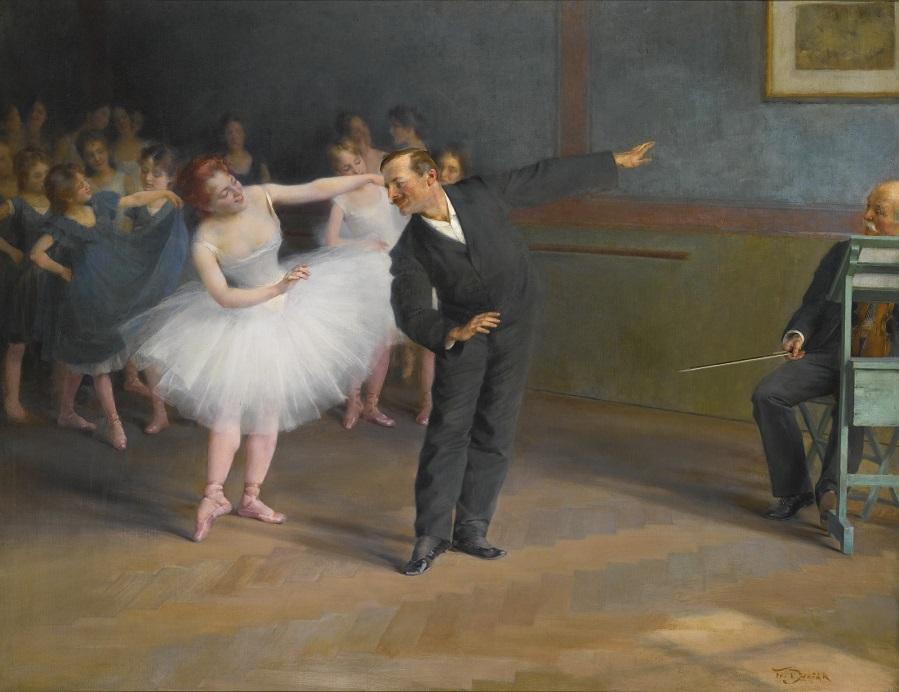 THE DANCING SCHOOL, PRAGUE.