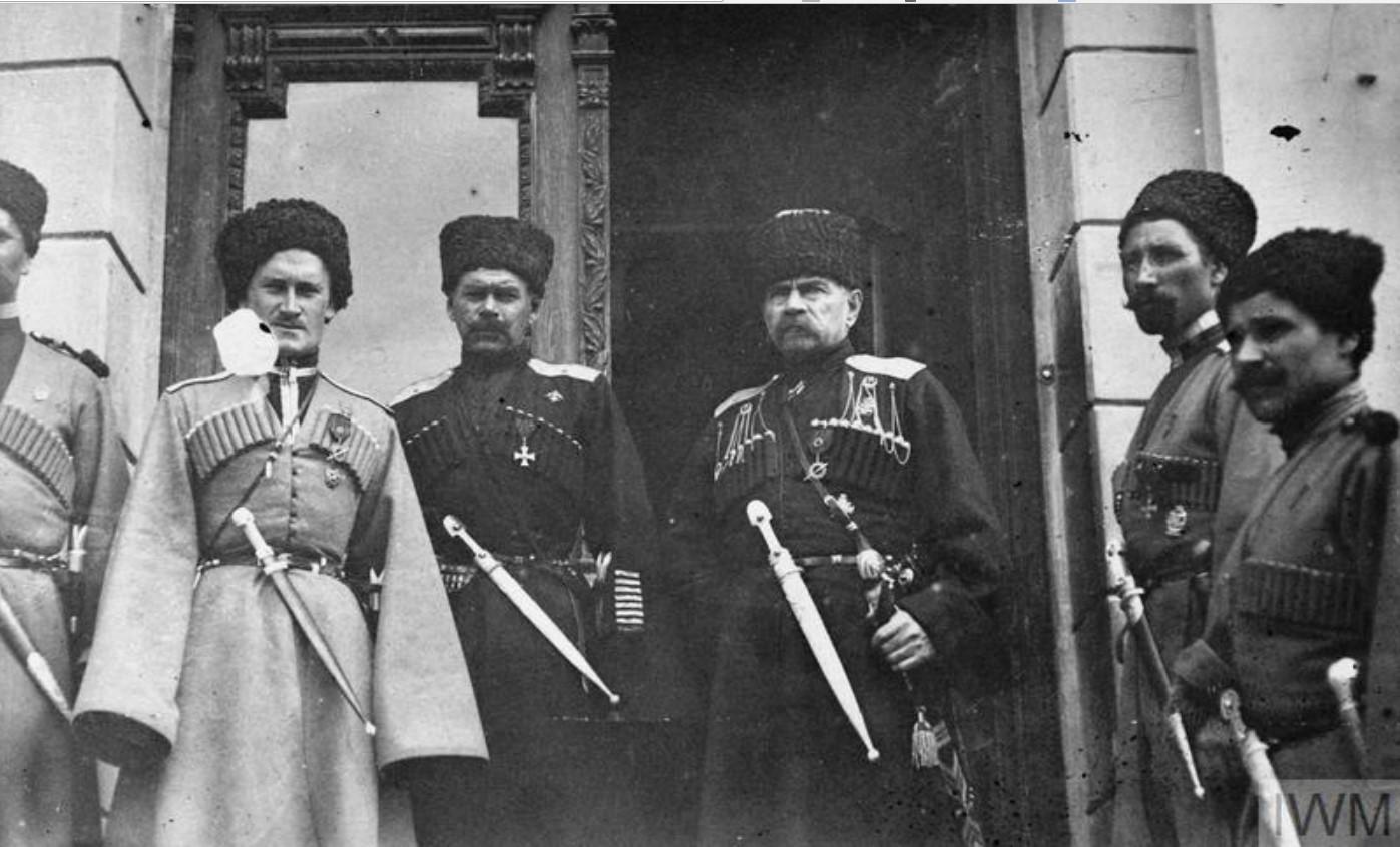 Группа старших казачьих офицеров Донской армии, лето 1919