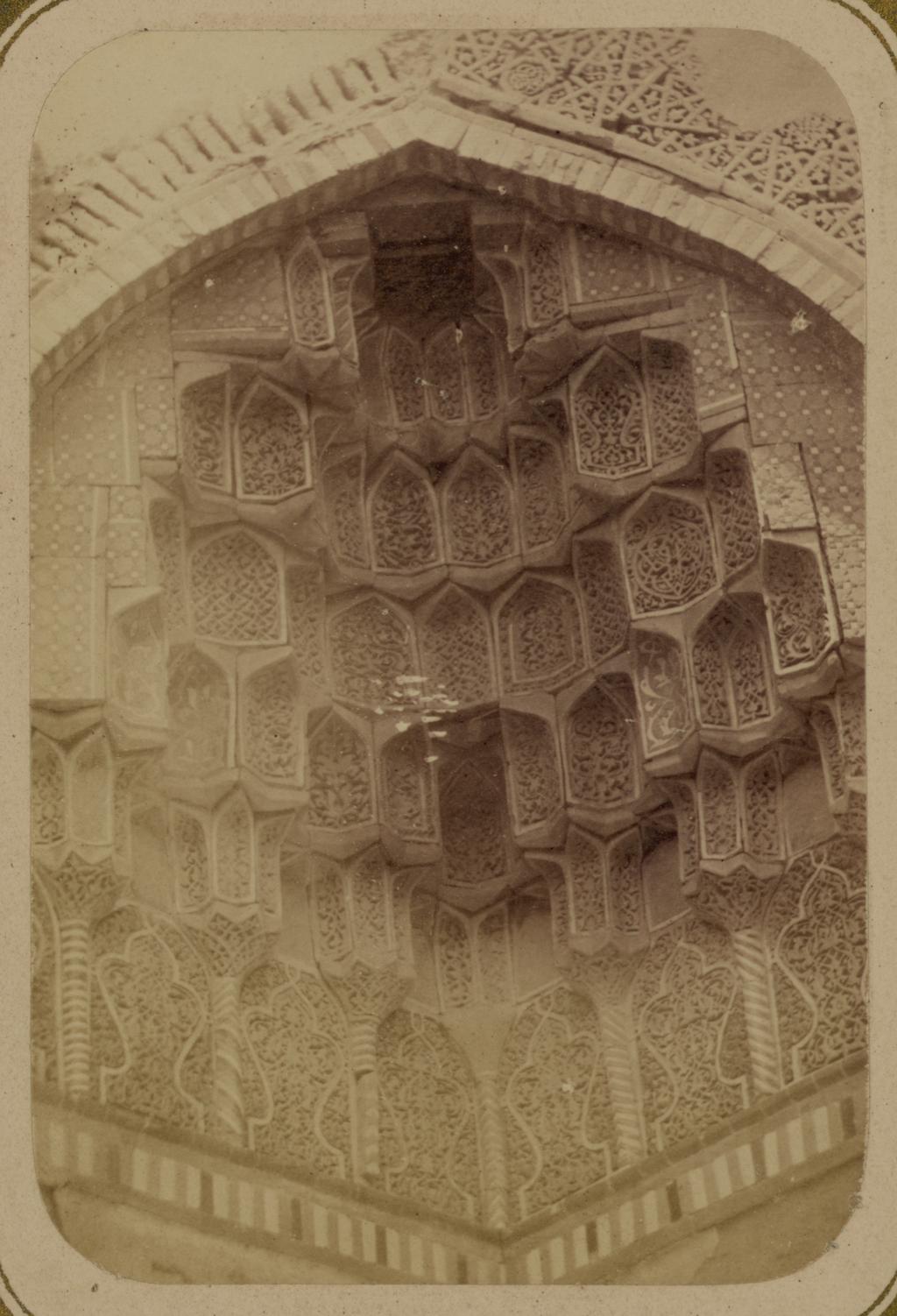 Мавзолей Ша-Арап. Фрагмент угла мавзолея