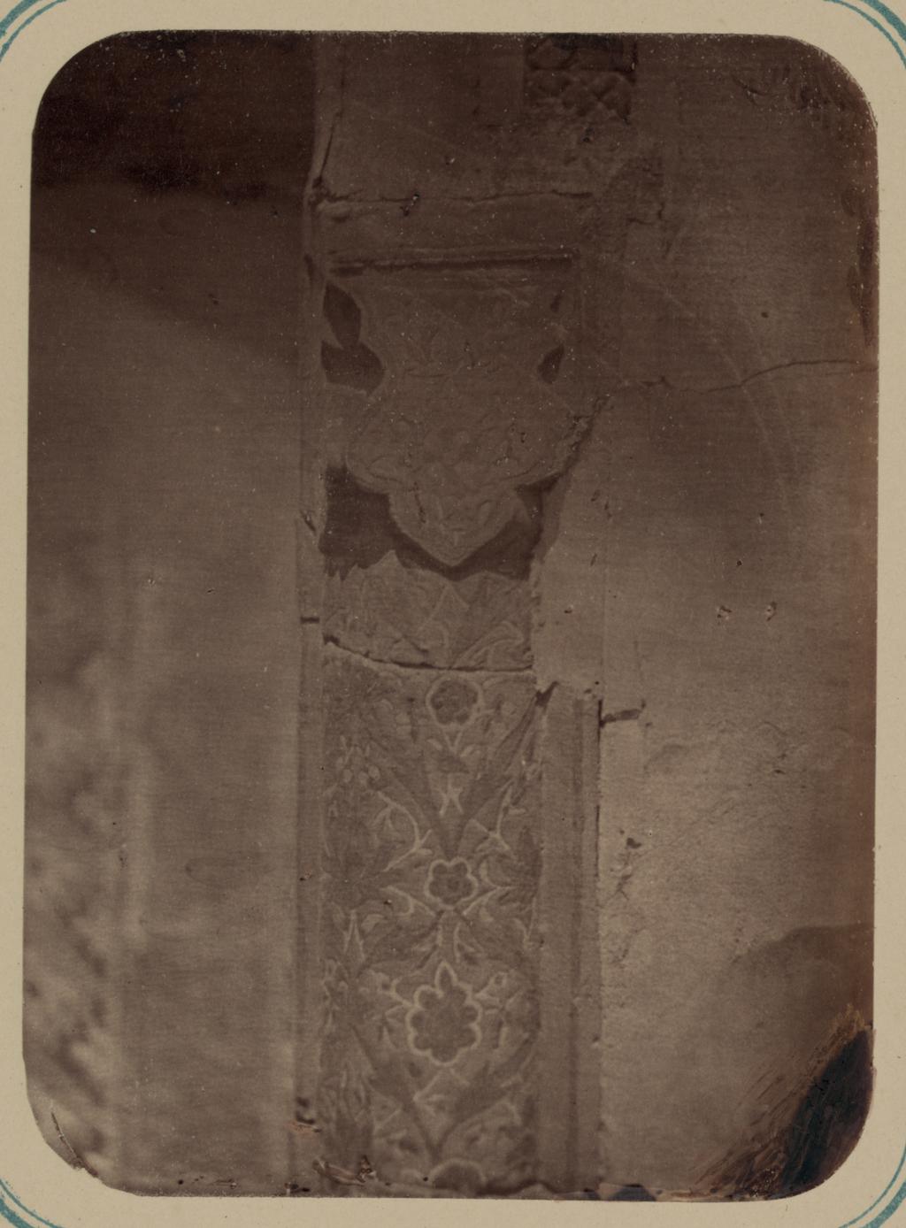 Мавзолей эмира Абу-Тенги. Капитель колонны