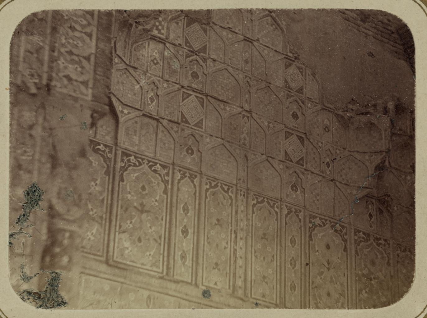 Мавзолей эмира Тимура Курагана (Гур-Эмир). Украшения в главной входной нише