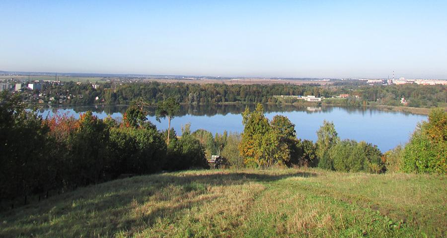 Дудергоф. Вид с Вороньей горы