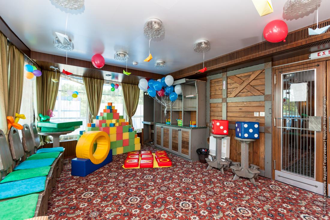 теплоход николай карамзин интерьеры детская игровая комната