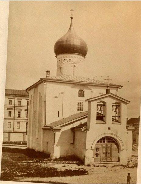 1886 Псков. Церковь Георгия со Взвоза. Барщевский И.Ф..jpg