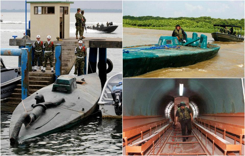 Подводные лодки наркокартелей