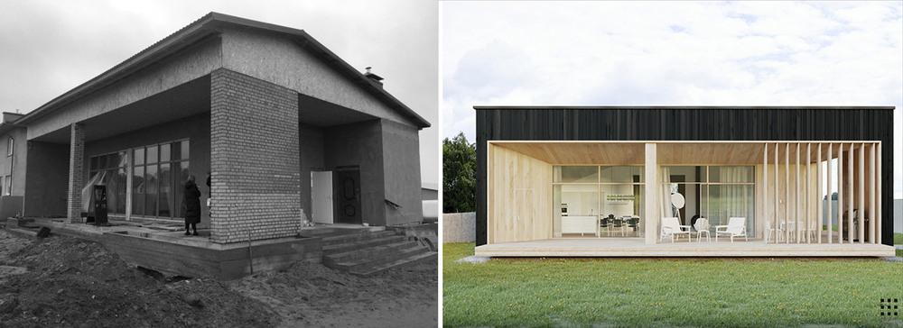 Реконструкция дома в Минской области