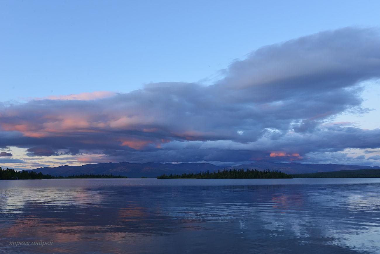 Закат на Имандре.