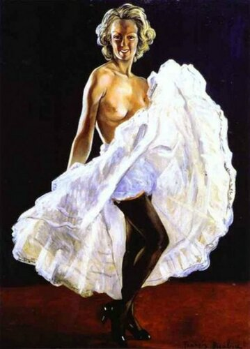 Francis Picabia (1879 – 1953, French)   Dancer Of French Cancan