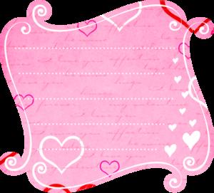 розовые карточки