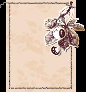 коричневые карточки