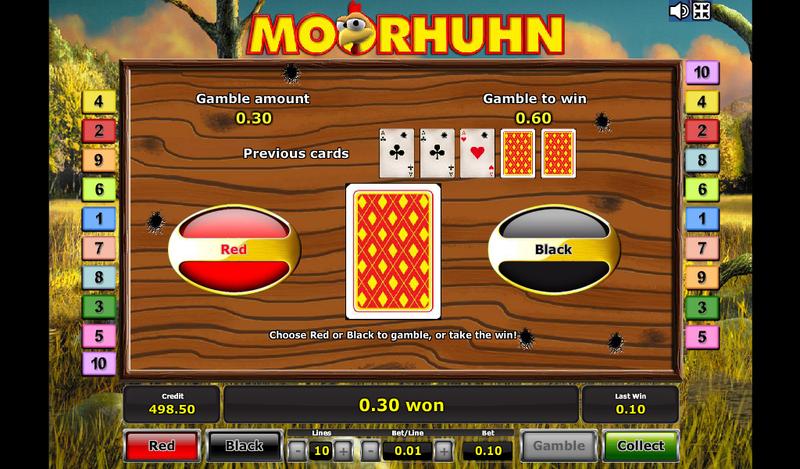 moorhuhn gamble