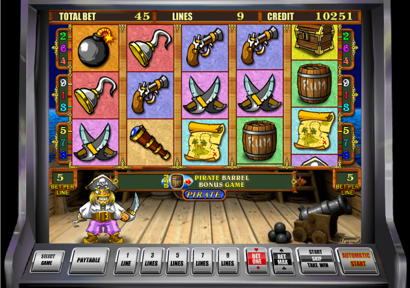 pirate slot main game