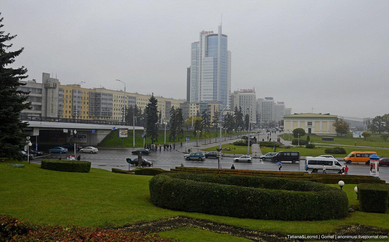 Минск в тумане