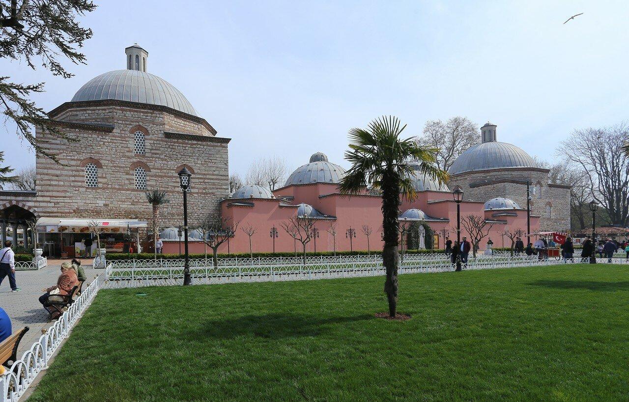 Стамбул. Хаммам Хюррем Султан, Бани Роксоланы (Ayasofya Hürrem Sultan Hamamı)