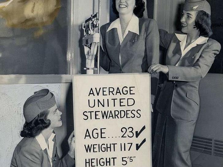 Строгие требования к профессии стюардесс.