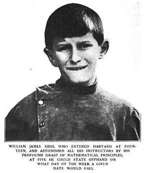 Когда ребёнку было9, его отец попытался убедить руководство Гарварда, что его сын уже готов кпосту