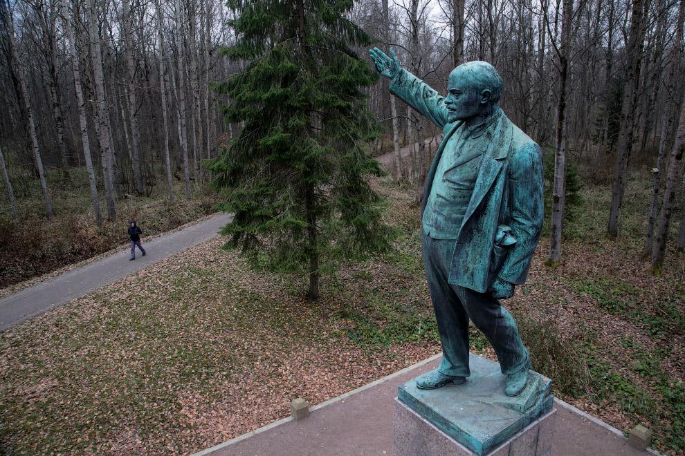 30. Парк Грутас — частный парк-музей в Литве, расположенный неподалёку от города Друскининкай. (Фото