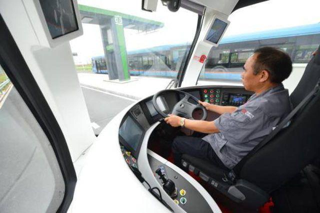 """Первый """"ART"""" поезд планируется запустить в городе Чжучжоу в 2018 году. Длина его маршрут"""