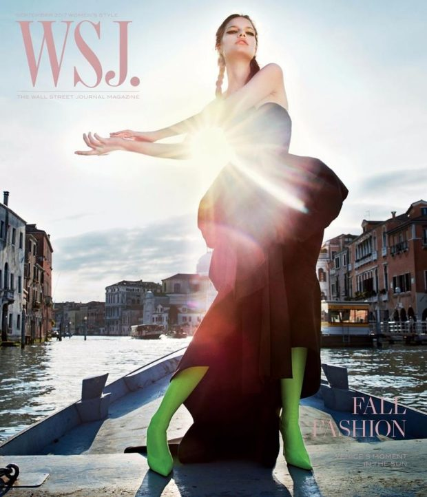 A Peak Inside of WSJ. September Issue Shot in Venice by Mario Sorrenti (7 pics)