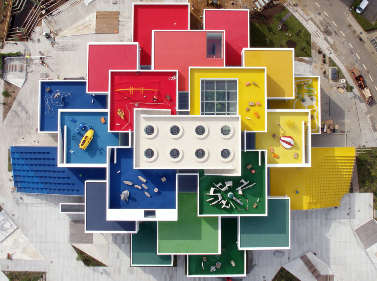 Twenty-One Colorful Cubes Compose Denmark's Newly Opened Lego House (9 pics)