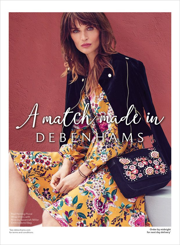 Helena Christensen is the Face of Debenhams Fall 2017 Collection (3 pics)