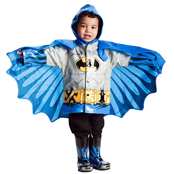 Kids Superhero Raincoats (6 pics)