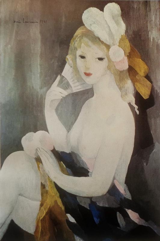 М. Лорансен «Девушка с веером»