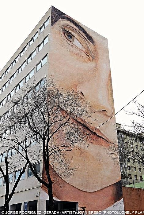 Uma turne pelo mundo atraves da Arte de Rua