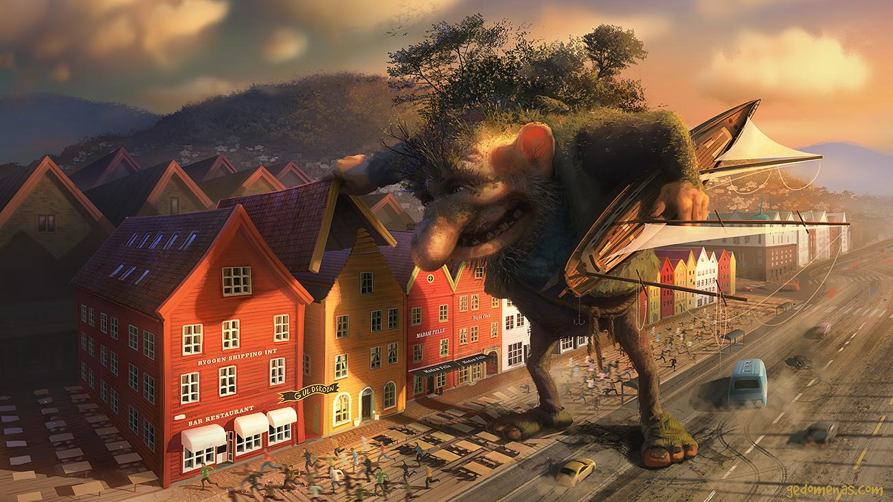 Phenomenal Digital Illustrations by Gediminas Pranckevicius