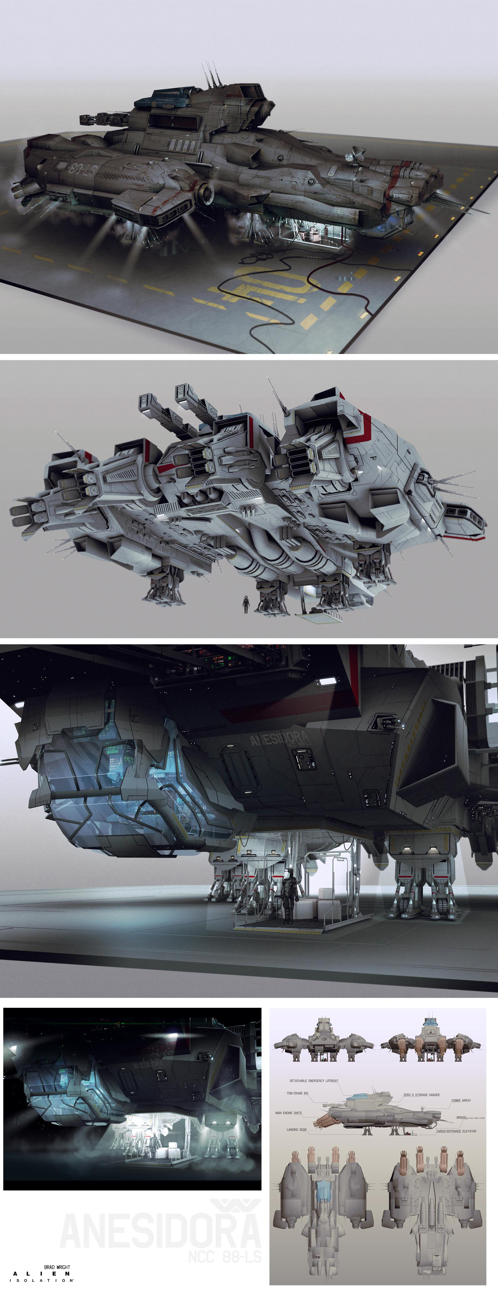 Alien: Isolation Concept Art by Brad Wright (14 pics)