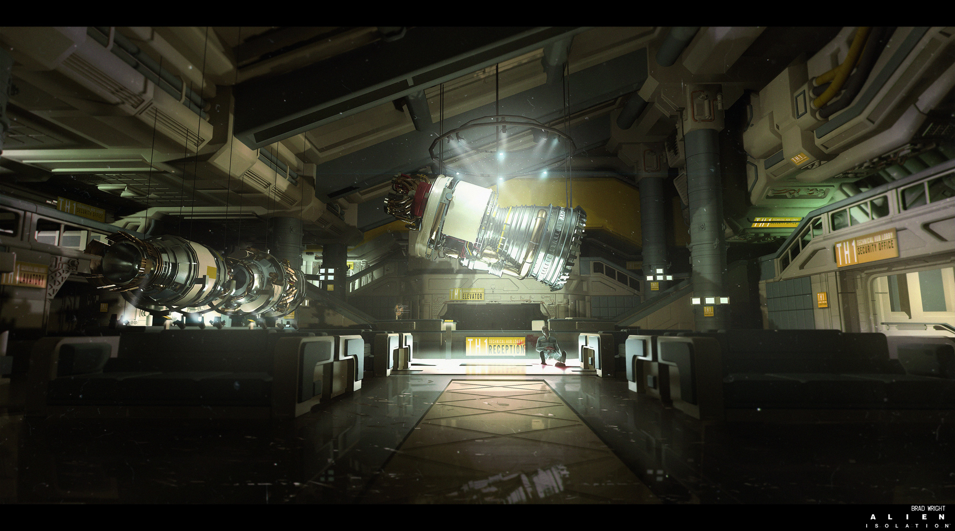 Alien: Isolation Concept Art by Brad Wright