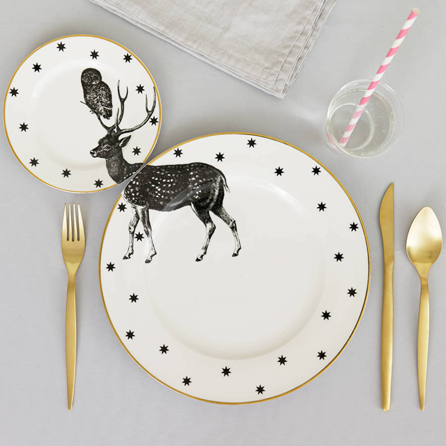 Inventive Compatible Wildlife Dishes and Tea Sets (9 pics)
