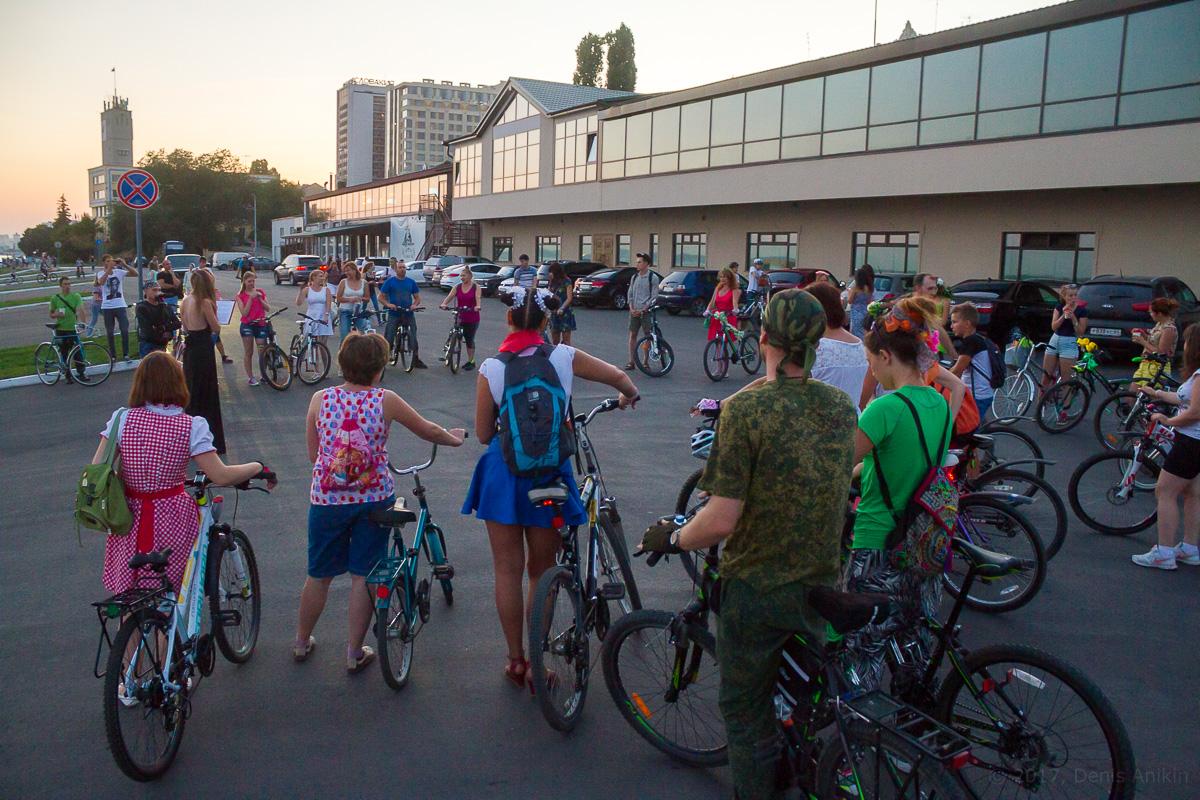 велопарад Леди на велосипеде фото 15