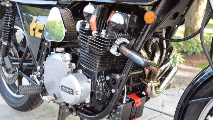 Турбо мотоцикл Kawasaki Z1R-TC 1978