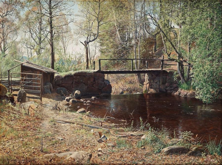 Spring landscape from Graversfors , 1884.jpg
