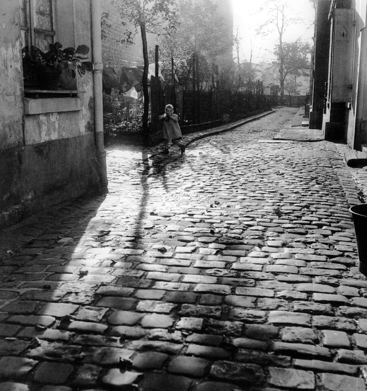 1954. Бельвиль-Менильмонтан. Париж