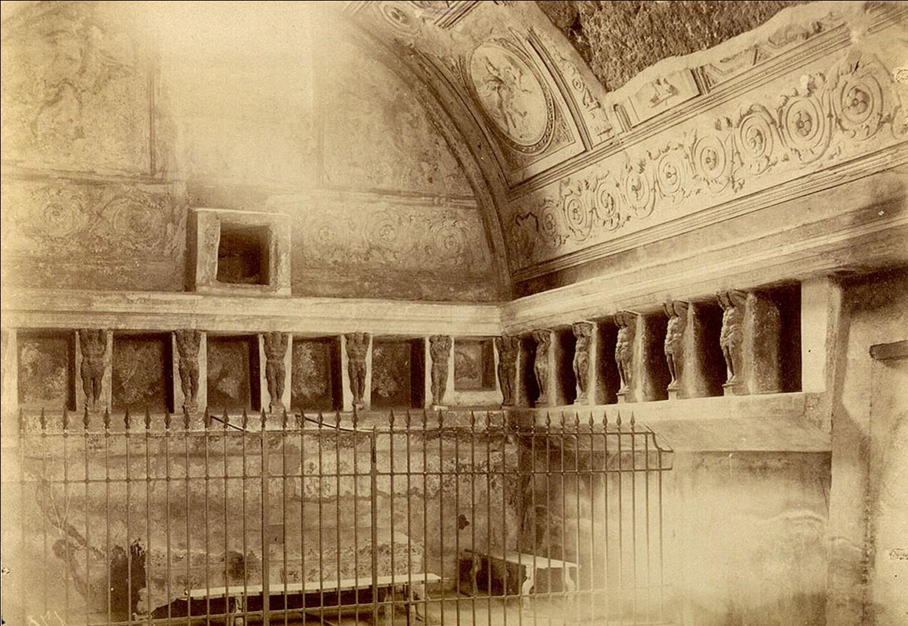 Термы форума. Тепидарий (Комната с горячей ванной)
