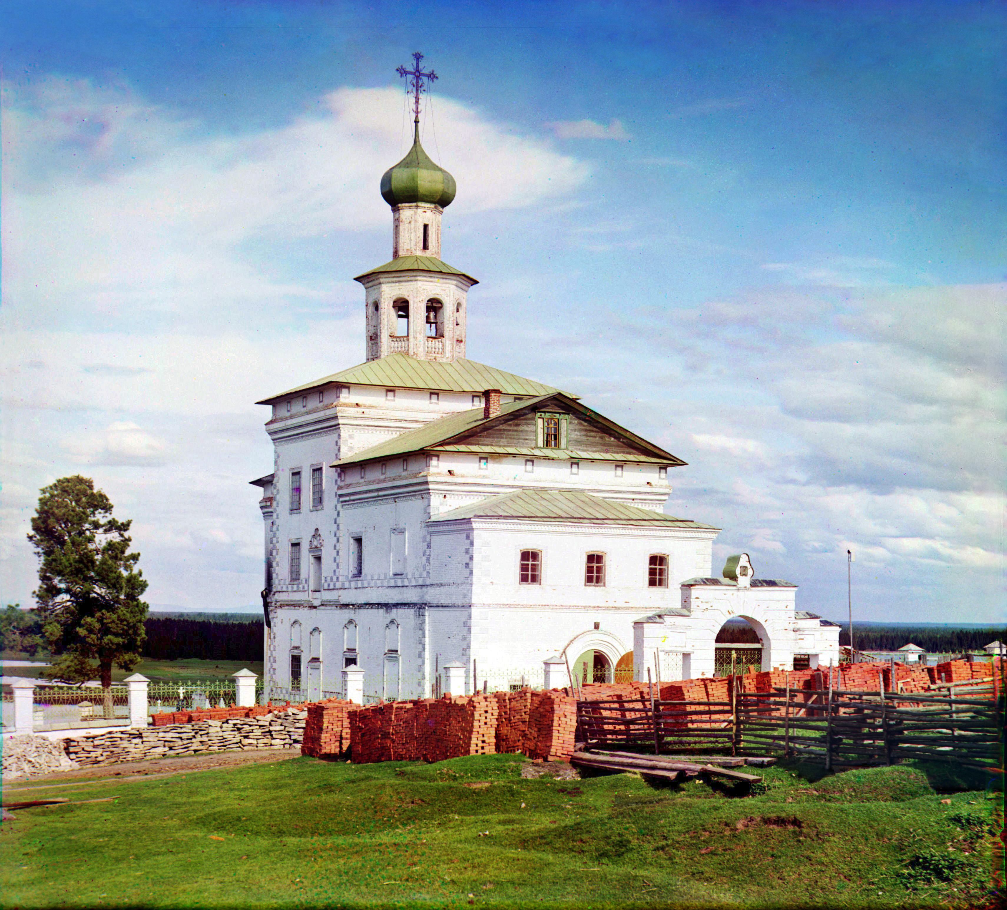 Женский монастырь в Чердыне (древнейшая церковь в крае). Собор Иоанна Богослова