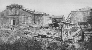 Постройка шрапнельной фабрики. 1917