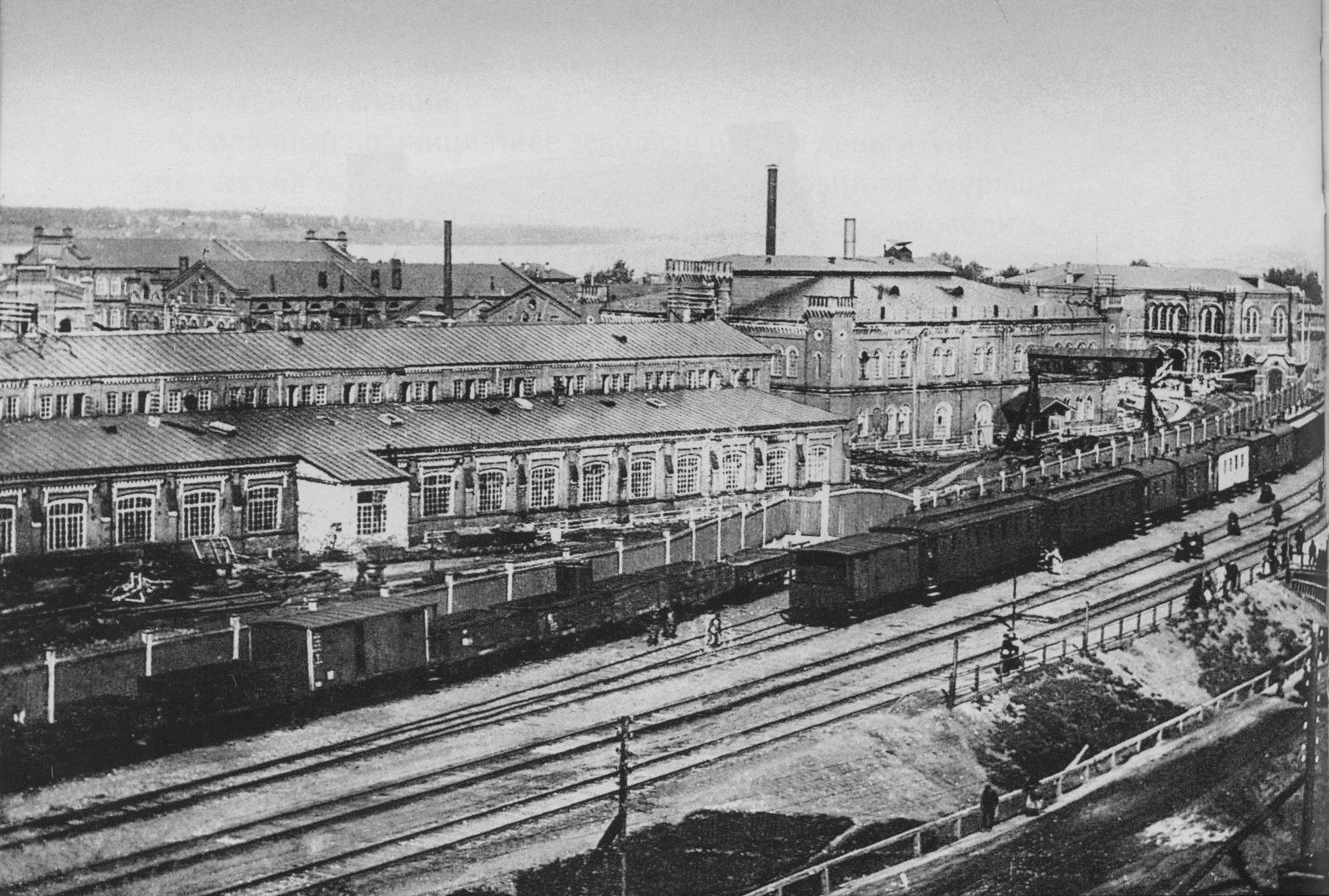 Станция Мотовилиха и лаборатории Пушечных заводов