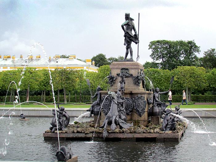 фонтан Нептун Петергоф
