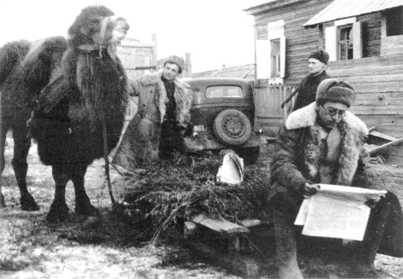 Василий Гроссман на Сталинградском фронте