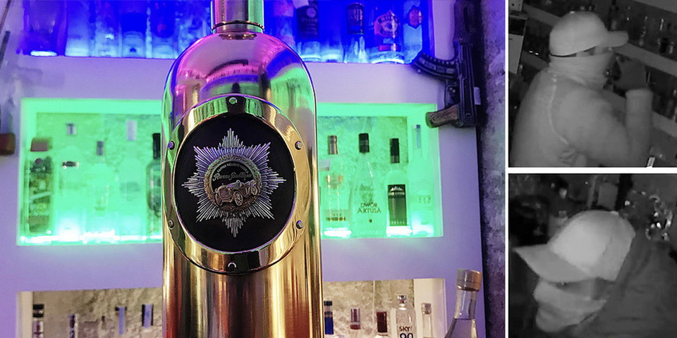 Из бара в Копенгагене украли бутылку водки стоимостью $1 300 000