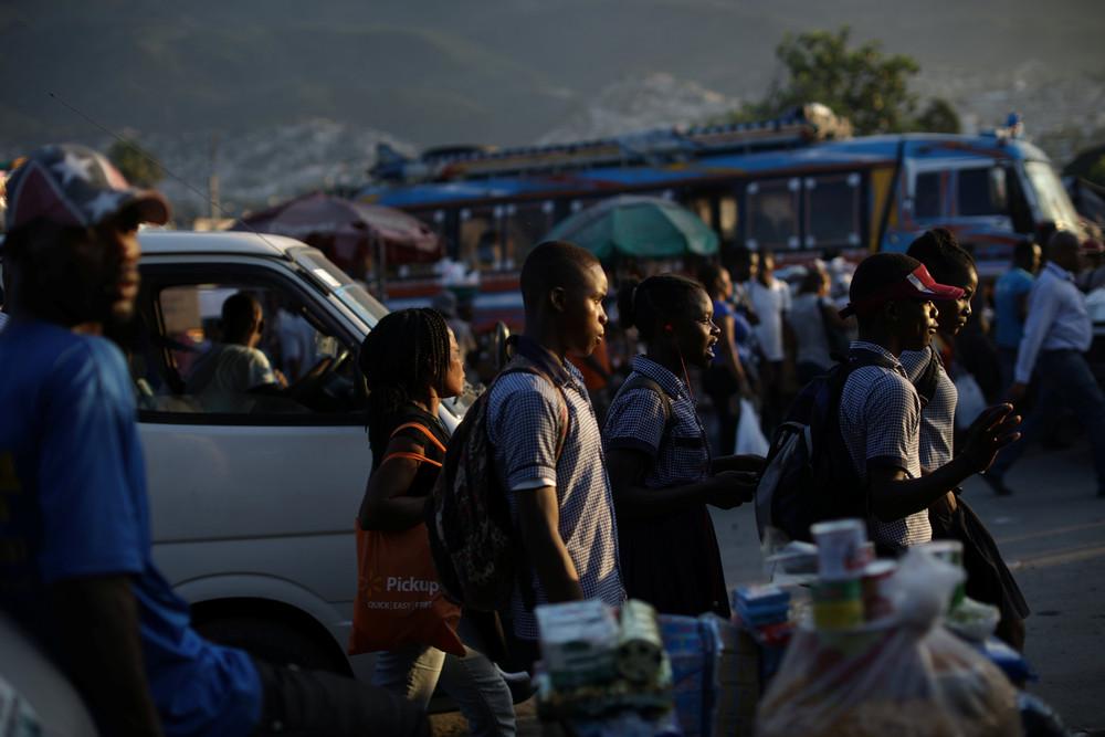 Интересные кадры из Гаити