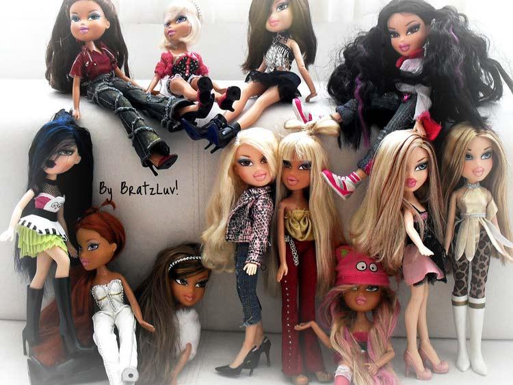 куклы Братц онлайн