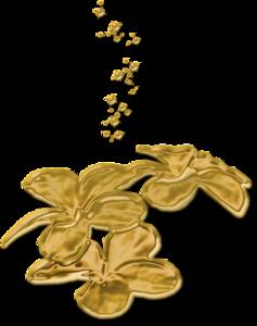 золотой декор