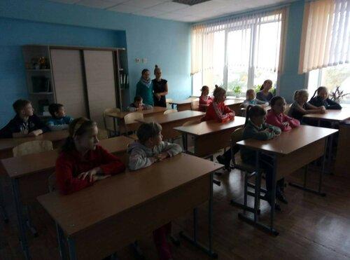 Шестой школьный день (28.10.2017)